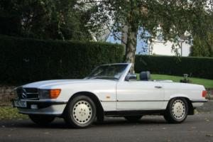 1988 F-Reg Mercedes-Benz 300 SL Auto R107 Model. Rare Electric Power Hood. PX