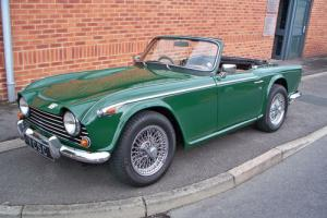 Triumph TR5 - British Racing Green RHD For Sale (1968) Photo