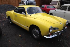 Vw Karmann ghia 1968,2 owners,history back to 1973,uk registered,drive away