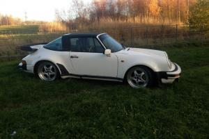 PORSCHE 911 2.7 TARGA TURBO BODY CLASSIC CONVERTIBLE SPARES OR REPAIRS PROJECT