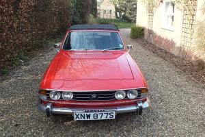 1977 TRIUMPH STAG AUTO RED Photo