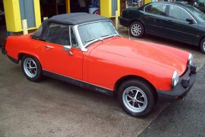 1979 MG MIDGET 1500 VERMILLION RED LOW MILEAGE STUNNING LOOK