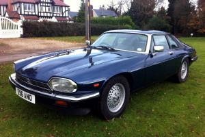 A SUPERB-LOOKING & DRIVING 1987/E JAGUAR XJS 3.6 MANUAL WITH GOOD HISTORY