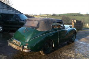 1950 SUNBEAM TALBOT 80 DROP HEAD COUPE - MEGA RARE GENUINE BARN FIND