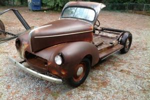 Willys : Station Wagon Woodie