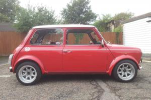 1991 ROVER MINI COOPER RED/WHITE WITH SPORTPACK