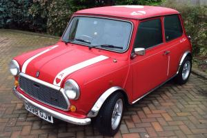 1989 ROVER MINI MAYFAIR AUTO RED