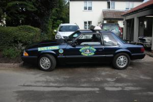 1990 FORD Mustang Special Service Package Police Fox Notch Mustang 5.0 liter