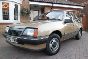 1984 VAUXHALL Cavalier MK2 GL Hatch Back Antique GOLD 8,750 Miles (Opel Ascona)