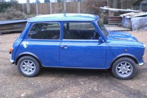 "ROVER MINI ""ITALIAN JOB"" 1275 COMMEMERATIVE MINT ORIGINAL 35000 mls Photo"