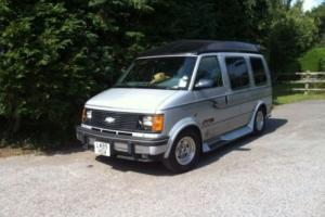 CHEVROLET ASTRO DAY VAN.4.3 PETROL 200BHP 4X4 ONLY 52000 MILES.7 SEATER