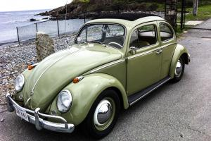 1960 VW Beetle with Sunroof - MINT