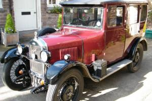 Singer Junior 1929 4 Door saloon