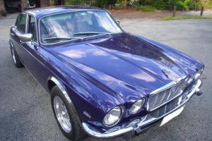 Jaguar XJ Sedan Ford 351 Cleveland Motor V8 Muscle Show CAR Photo