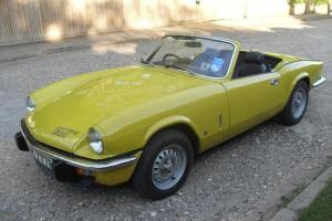 1975 TRIUMPH SPITFIRE 1500 YELLOW 57000 miles 1 family have owned from new Photo