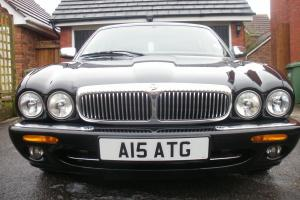 Daimler Super V8 LWB Limo XJR Supercharged Jaguar Black with cream leather Photo