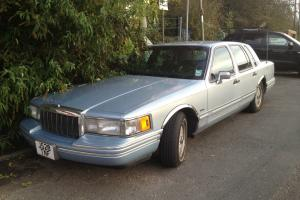 1992 LINCOLN TOWN CAR crown victoria