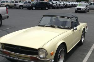 Triumph Tr6.Tax exempt. two owners simply amazing condition rare opportunity!!
