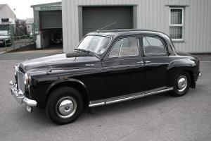 1962 ROVER P4 100 Saloon ~ Manual with Overdrive