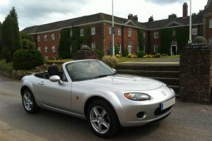 2007 MAZDA MX-5 SILVER UNRECORDED DAMAGED -CONVERTIBLE '07 MAZDA MX5 - HPI CLEAR
