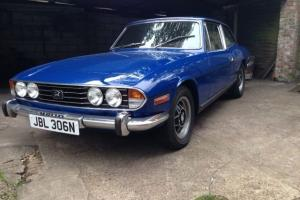 1975 TRIUMPH STAG BLUE Photo
