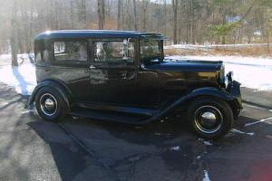 1930 HUDSON ESSEX 2 DOOR SEDAN STREET ROD, HOT ROD