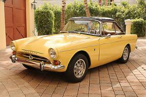 Real and restored 1965 Sunbeam Tiger Mk1