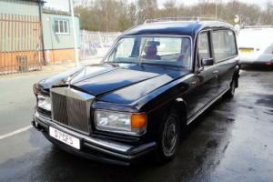 1991 ROLLS ROYCE SILVER SPIRIT II HEARSE - Damaged Repairable  Photo