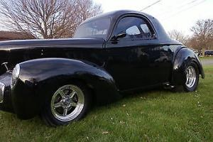 41 willys TRADES WELCOME streetrod prostreet hotrod protouring willys coupe