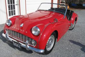 1960 TRIUMPH TR3 FRAME-ON RESTORATION Photo