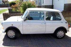 1990 ROVER MINI MAYFAIR WHITE AUTOMATIC