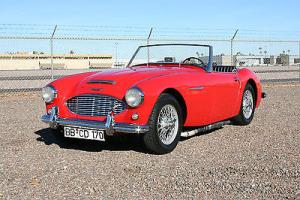 1957 Austin Healey BN4 100-6 Roadster!  Great little English road car!