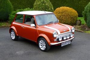 1997 Mini Cooper In Volcano Orange On Just 3700 Miles From New!! Photo