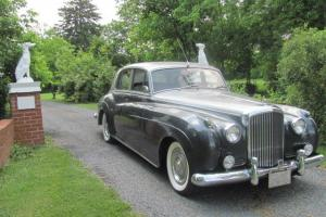 1957 Bentley S1, Silver over Grey, VG condition inside and out, classic lines
