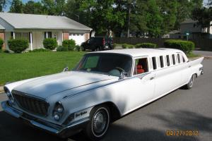 1961 CHRYSLER NEW YORKER LIMOUSINE--ONE OF A KIND