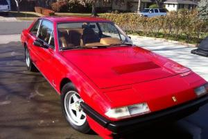 1984 FERRARI 400I  V12 RED ON TAN JUST HAD 19K WORTH OF WORK AND RECEIPTS DONE