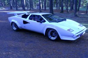 1985 Lamborghini Countach Replica Tube Frame V8 Manual
