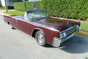 1962 LINCOLN CONTINENTAL CONVERTIBLE SUICIDE DOOR 25,889 ORIGINAL MILE SURVIVOR