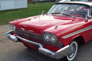Christine ** 1958 Plymouth Belvedere Sport Coupe***Rare Chance to Own a Legend*