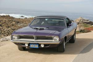 1970 Plymouth Hemi Cuda Re-creation, Plum Crazy
