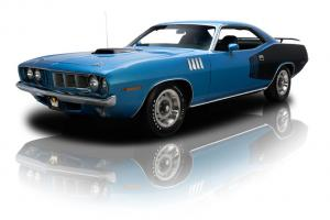 Frame Up Restored 'Cuda 440 Six Pack 4 Speed Dana 60