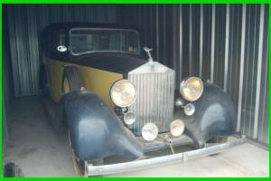 1936 Rolls Royce 25/30 Classic NORTH CAROLINA