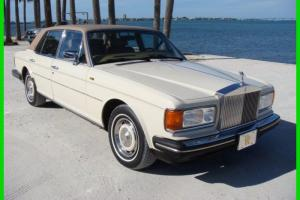 1988 Rolls Royce Silver Spirit ONLY 37K MILES STUNNING FLORIDA CAR NO RUST