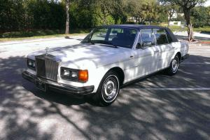 1985 Rolls-Royce Silver Spirit Low Miles, Runs Drives Great, Just Serviced, Rare Photo