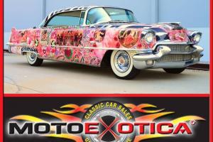 1956 CADILLAC  DEVILLE- LOVE CAR FROM THE LAURENCE GARTEL ART CAR COLLECTION