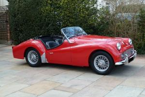 TRIUMPH TR3A - 1958 UK / RHD - OVERDRIVE - STUNNING CONDITION -- RESTORED  Photo