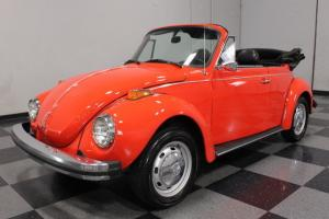 CLEAN SOUTHERN BUG, RED W/BLACK CONVERTIBLE TOP, NEW CARB, CLEAN RESTO