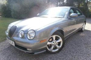 JAGUAR S-TYPE 2.5 V6 SPORT 4D 201 BHP MANUAL F.S.H.