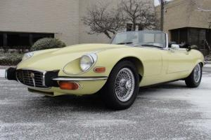 1973 JAGUAR E-TYPE V12 ROADSTER, 4-SPEED, AC, JUST SERVICED!
