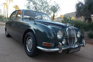 1966 Jaguar 3.8 S- Rare right hand drive.
